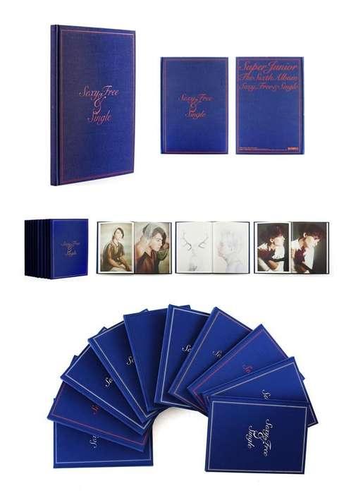 Super Junior 6th Album - Sexy, Free & Single ( KPOP - Corea - música)