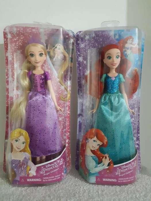 Muñecas Princesas Disney Hasbro