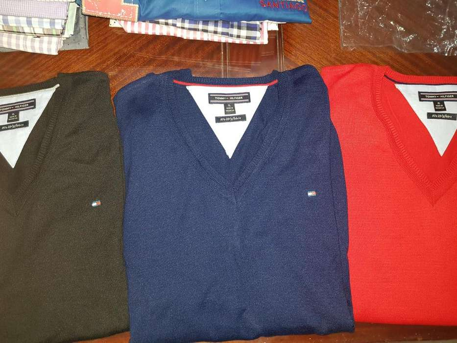 puloveres tommy talle xl nuevos