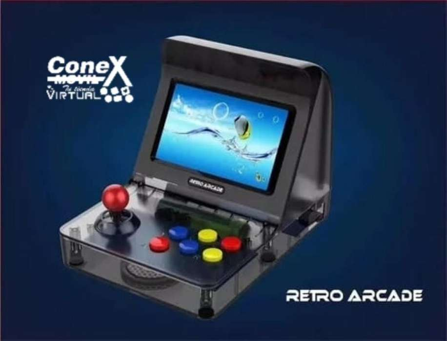Mini Consola Retro Arcade Portatil 3000