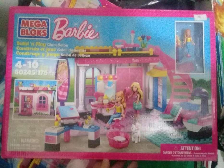 Mega bloks barbie 80245 salon de belleza