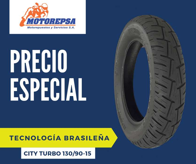 <strong>llanta</strong> TECHNIC CITY TURBO 130/90 15 para MOTOS YAMARA VARGO 250, SUNDOWN V BLADE, y similares