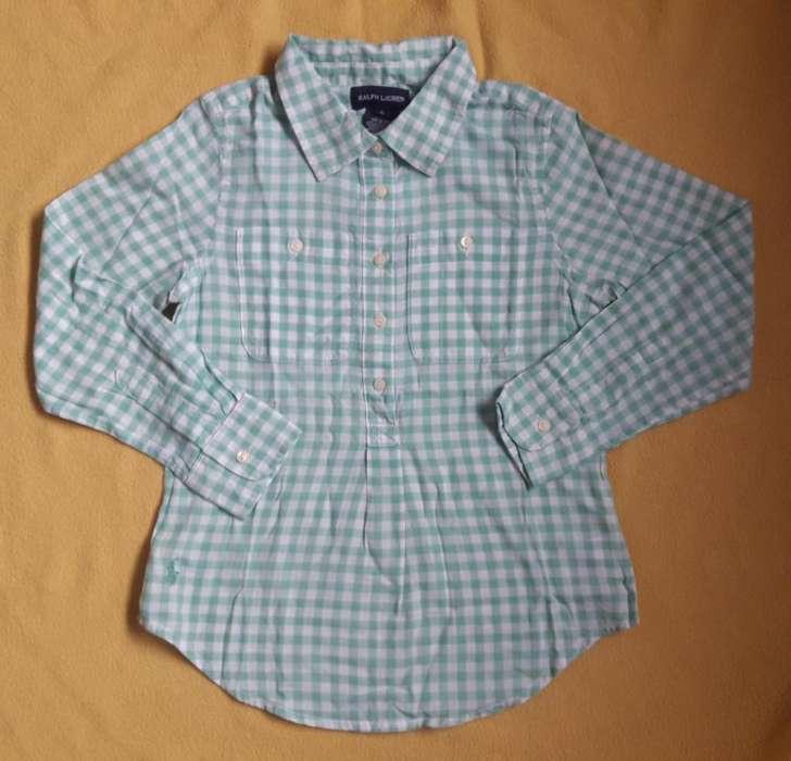 Blusa Camisa Niña Polo Ralph Lauren