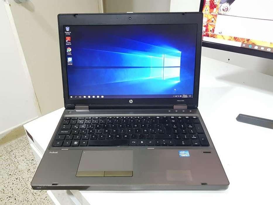 PORTATIL HP PROBOOK i5 da TURBO 2.90GHZ, 4GB RAM, 500GB DISCO, LECTOR HUELLA, PANTALLA 15.6 DISPLAY PORT