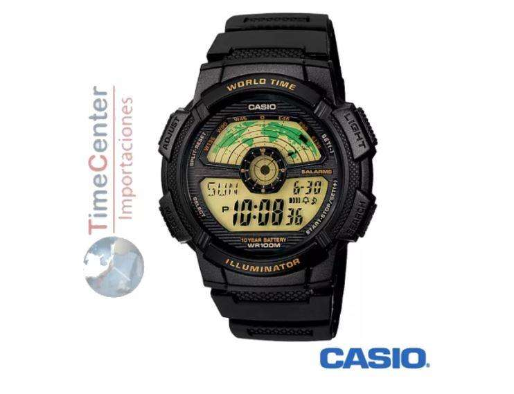 Reloj Casio Deportivo Digital Ae1100w1bv