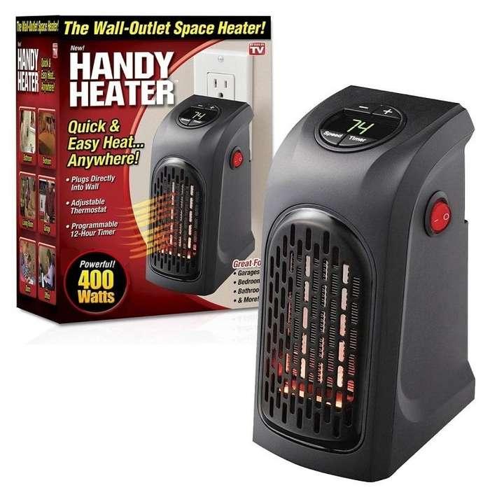 Calentador Calefactor de ambiente 400 watts, enchúfalo y listo!