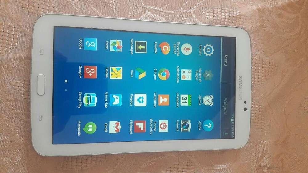 Tablet Samsung Buen Estado sin Cargador
