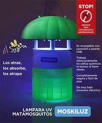 MOSKILUZ - LAMPARA MATA-INSECTOS - NUEVO! Valls S.A