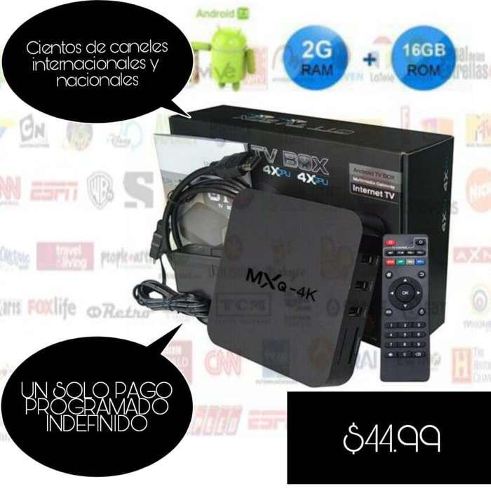 Tv Box 2 gb Ram 16gb Rom programado