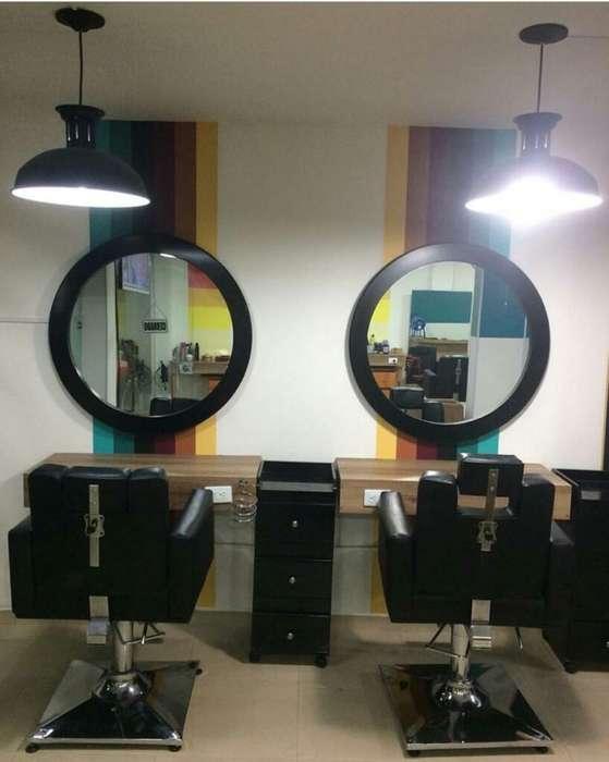 Se Vende Mobiliario Barbería -peluquería