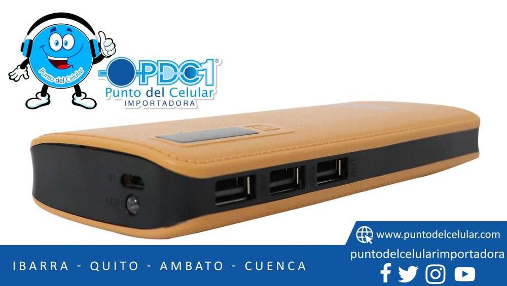 Power Bank Cargador Portátil Batería Externa-pdcelular