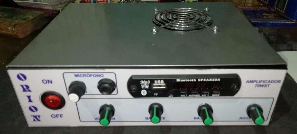 Amplificador 32w 32w Bluetooth Tonos