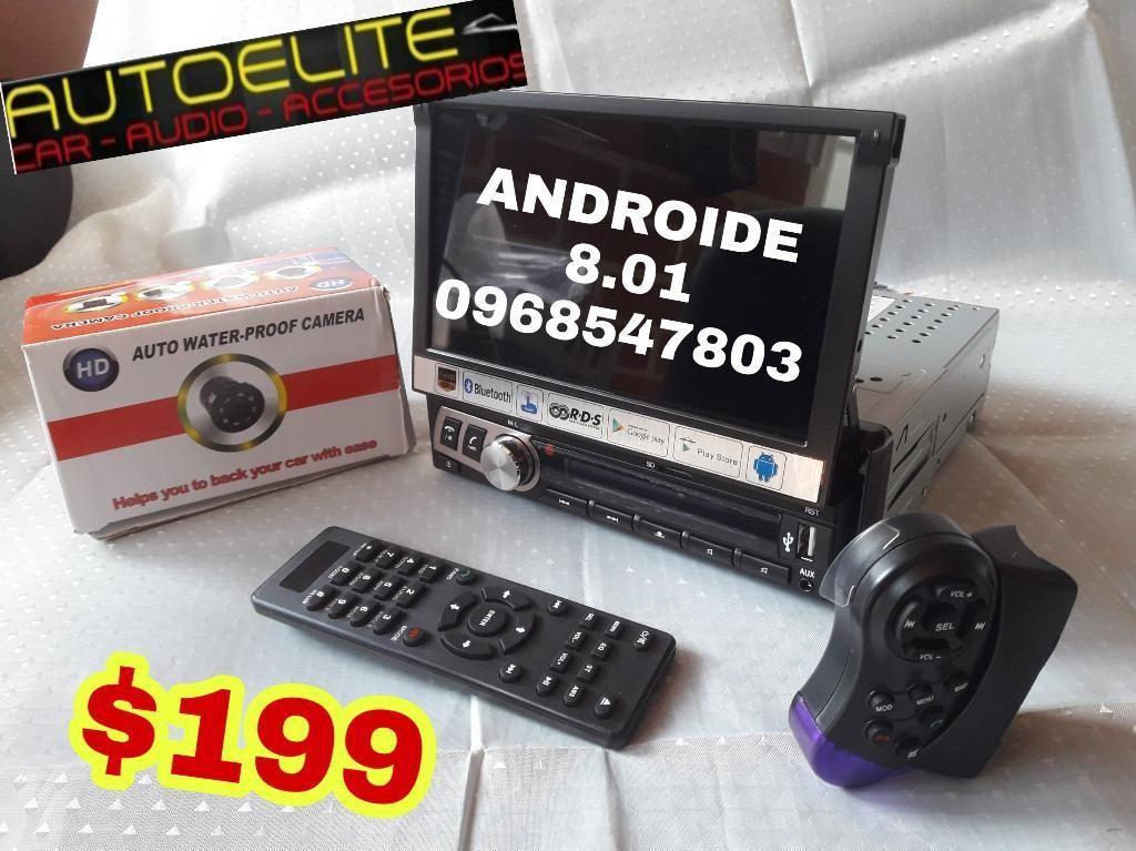Radio Androide Retractil Promo Autoelite