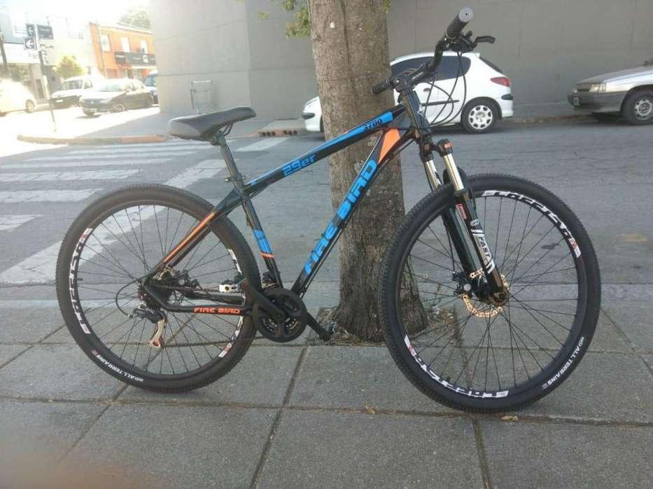 Bicicleta Fire Bird rodado 29, Freno a disco, 21 velocidades