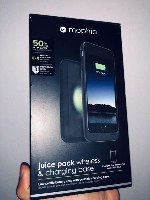 Mophie Charger Case Base Inalambrica
