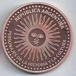 Medalla Favaloro - 40mm. - Cobre .999 puro