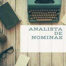 Analista de Nomina/Experiencia Excel Avanzado