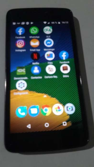 Permuto Moto G 5 Impecable