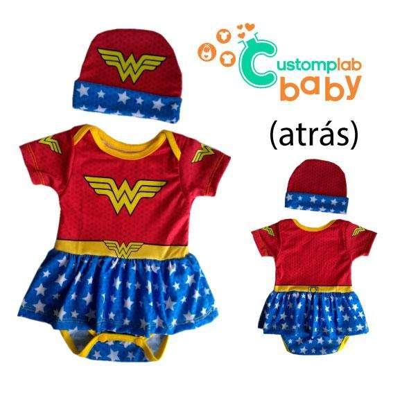Disfraz mameluco bebe, superman