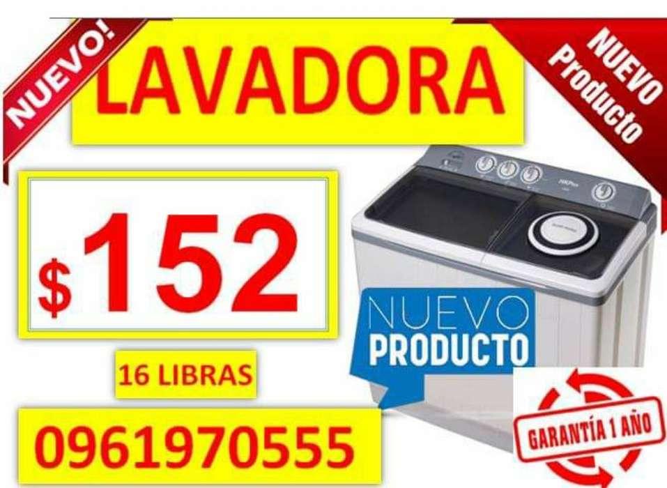 Lavadoras Ecoline 16 Libras
