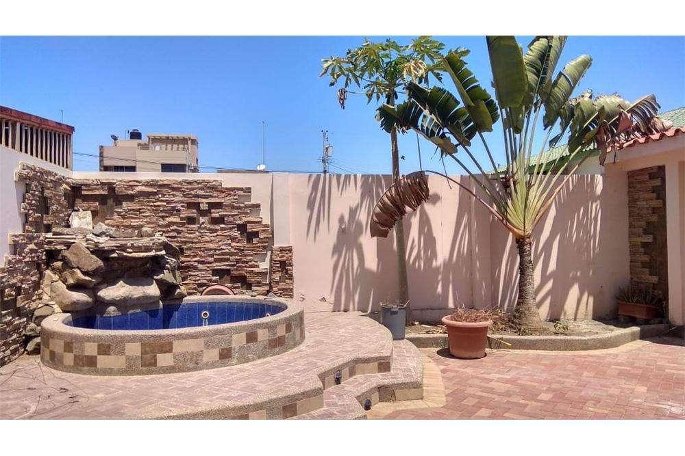 Casa de arriendo en urbanizacion manta beach en manta