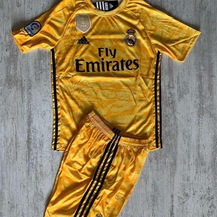 Uniforme de futbol Real Madrid