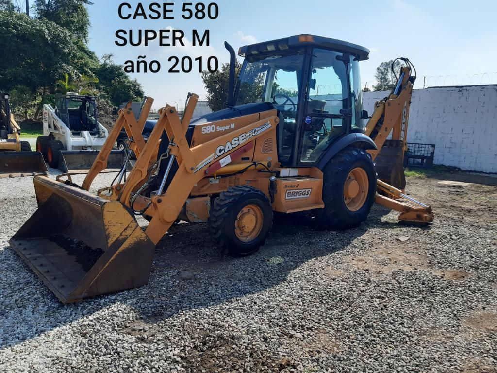 Retroexcavadora Case 580 Superm Año 2010