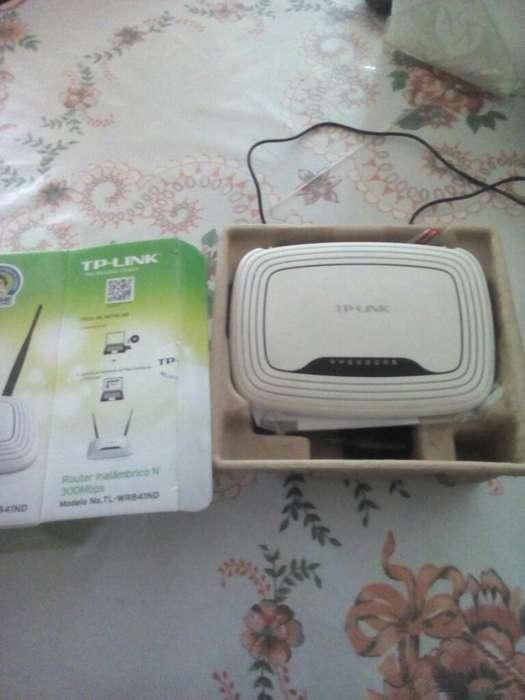 Vendo Router Tplink 2 Antenas