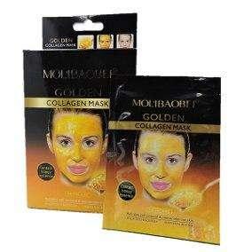 Mascara importada de oro