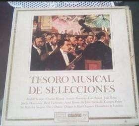 Discos Música Clásica: COLECCION TESORO MUSICAL DE SELECCIONES 12 VINILOS