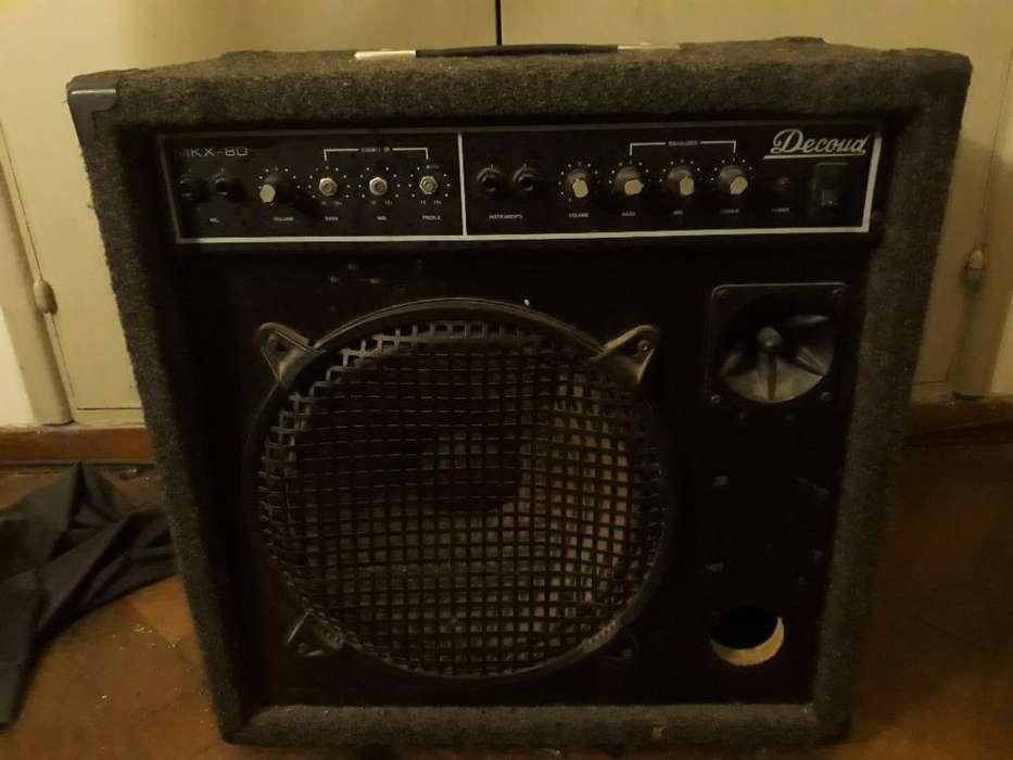 Amplificador Decoud Mkx 80 4 Canales