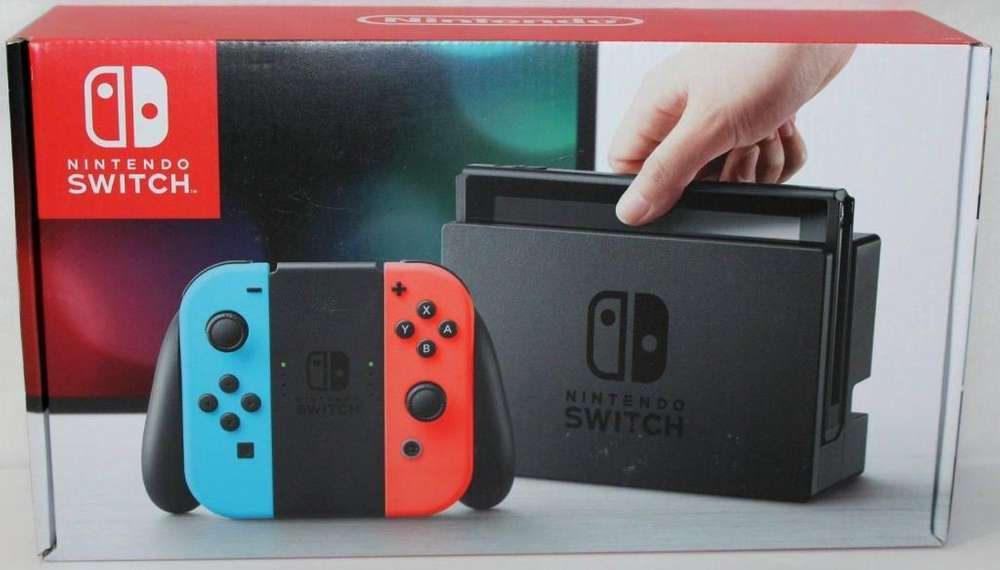 Nintendo Switch Neon Blue- Red