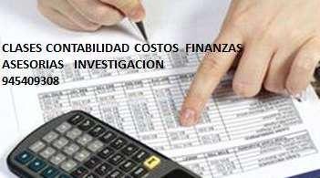 CLASES CONTABILIDAD COSTOS FINANZAS INVESTIGACION TRABAJOS WHATSAPP 945409308