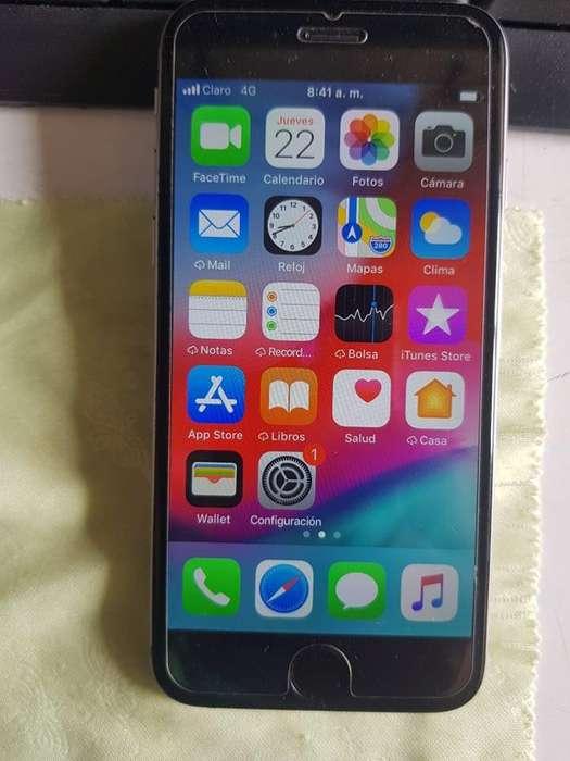 iPhone 6 Normal de 128GB, Libre de todo, Full. 600.000.