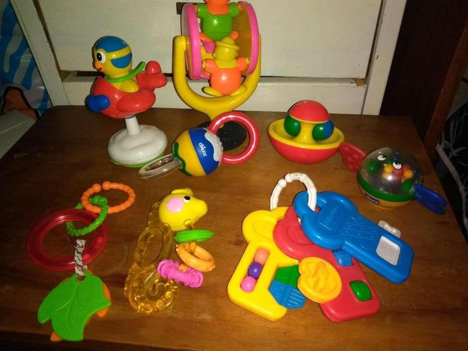Lote juguetes de beb