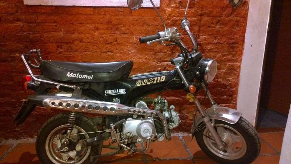 Vendo Motomel Max 110cc