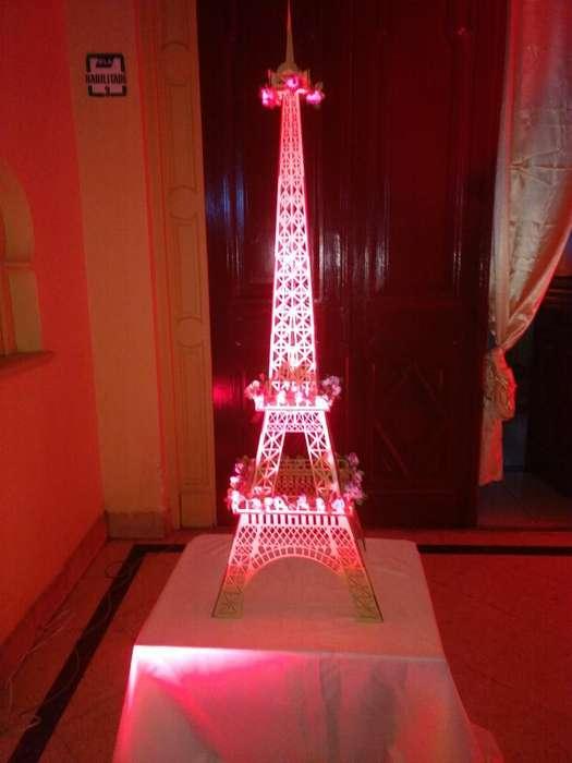 Alquilo Hermosa Torre Eiffel