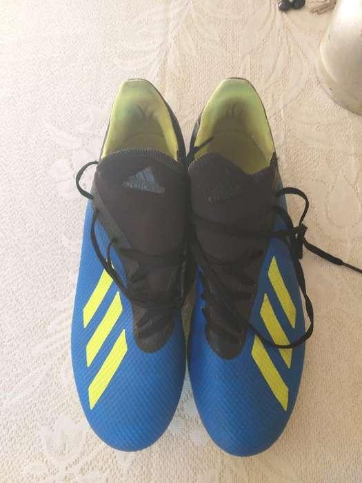 Botines Adidas X18.3 Talle 41.5
