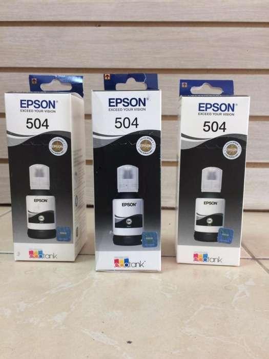 TINTA EPSON 504 (BK)