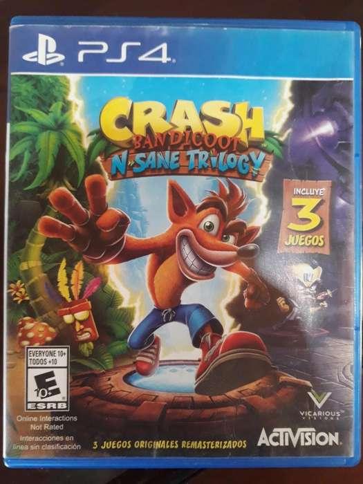Crash Bandicoot N'sane Triology - Ps4