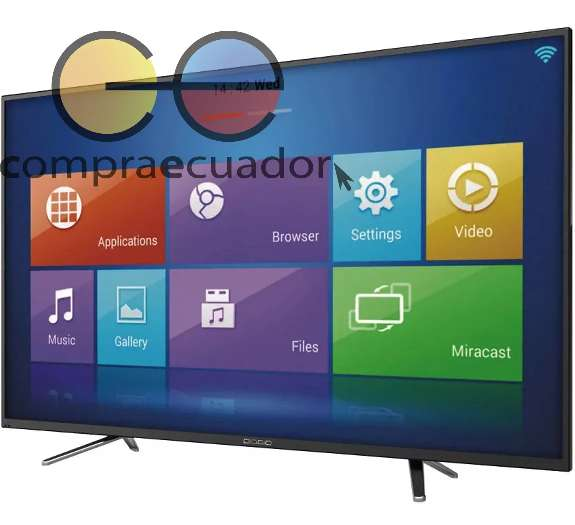 Diggio <strong>televisor</strong> Led 40 Smart Tv Full Hd Android Wifi Usb