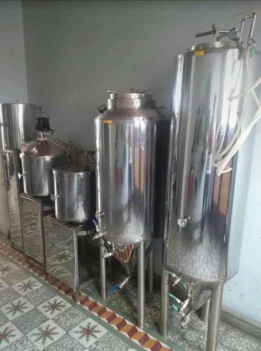 Planta para Producir Cerveza Artesanal