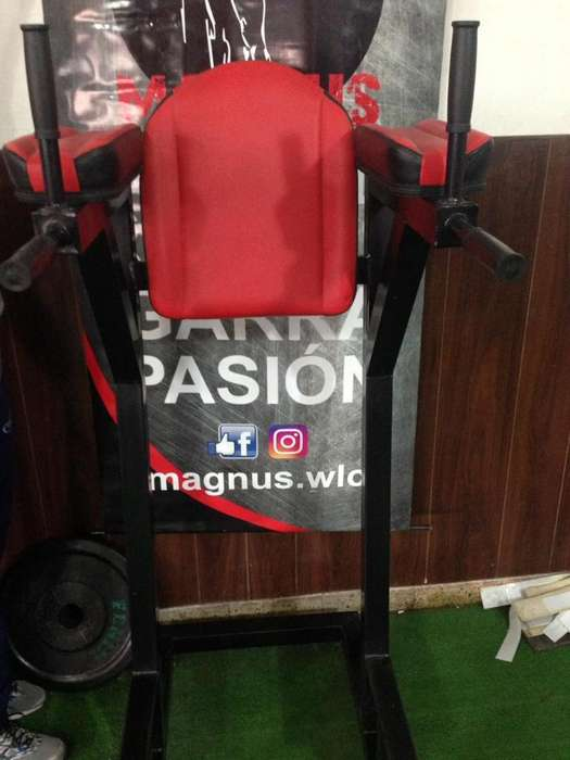 Fondos en Paralelas Fitness Machine