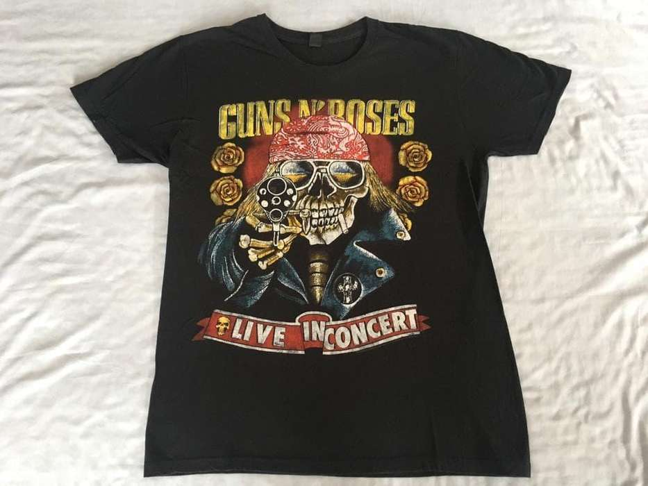 Camiseta original de Guns N Roses