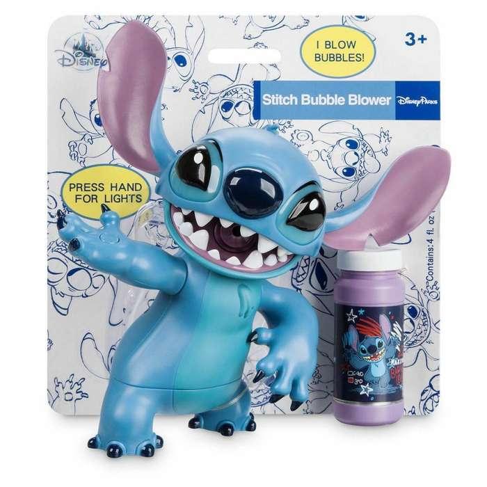 Stitch - Disney - Lanzador De Burbujas - Importado