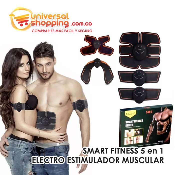 SMART FITNESS 5 en 1 ELECTRO ESTIMULADOR MUSCULAR