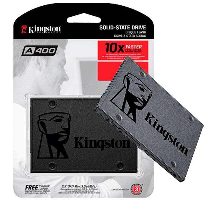 Disco Duro Solido Ssd 240gb Kingston Sata 6gb/s 550/450mb/s
