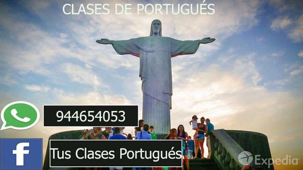 CLASES TRABAJOS DE PORTUGUÉS - 944654053