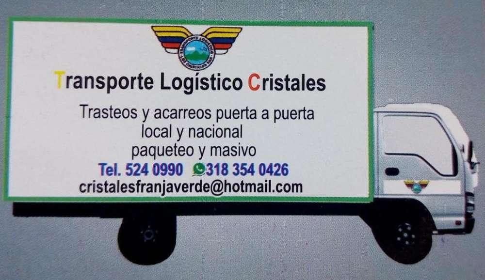OFRECEMOS SERVICIOS DE TRANSPORTE DE CARGA MEDIANA Y LOGISTICA