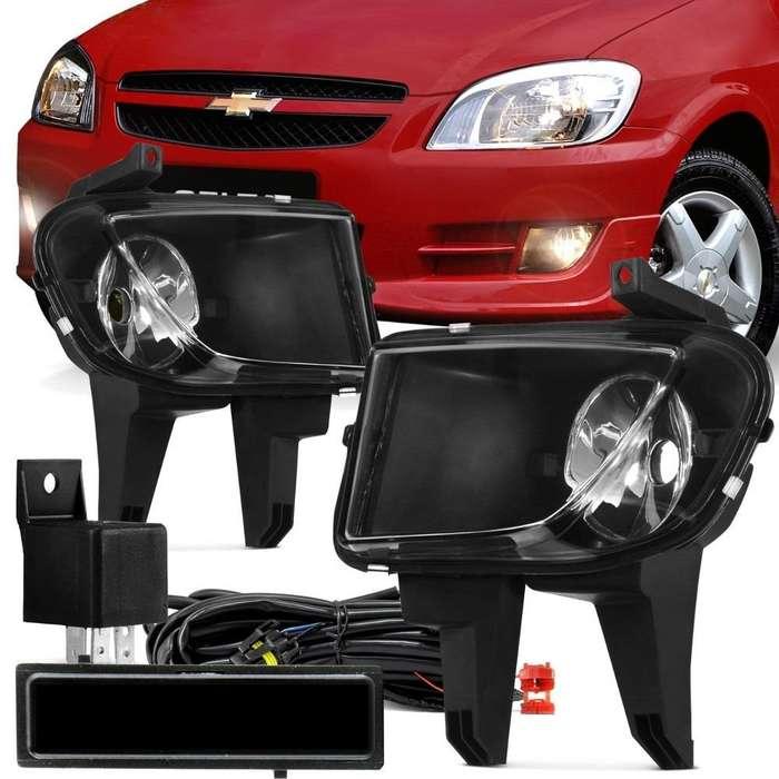 <strong>faros</strong> auxiliares para vehiculos instalados a domicilio.
